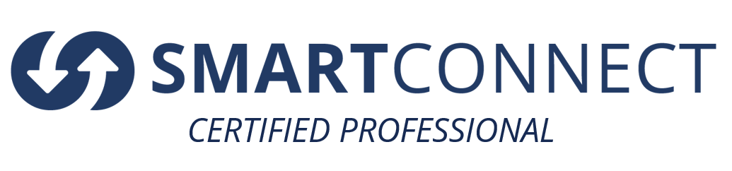 SMARTCONNECT CERTIFIED PROFESSIONAL. WHITE