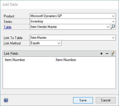 Excel Report Builder > Excel Reports > Adding Additional Tables