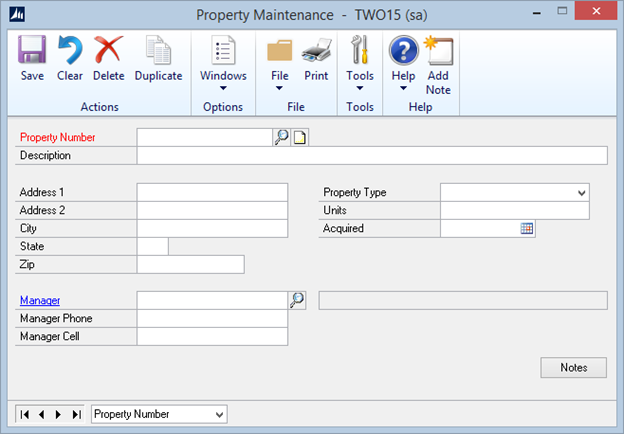 Property management template for extender eone solutions for Land management plan template