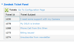 ZD Ticket Panel