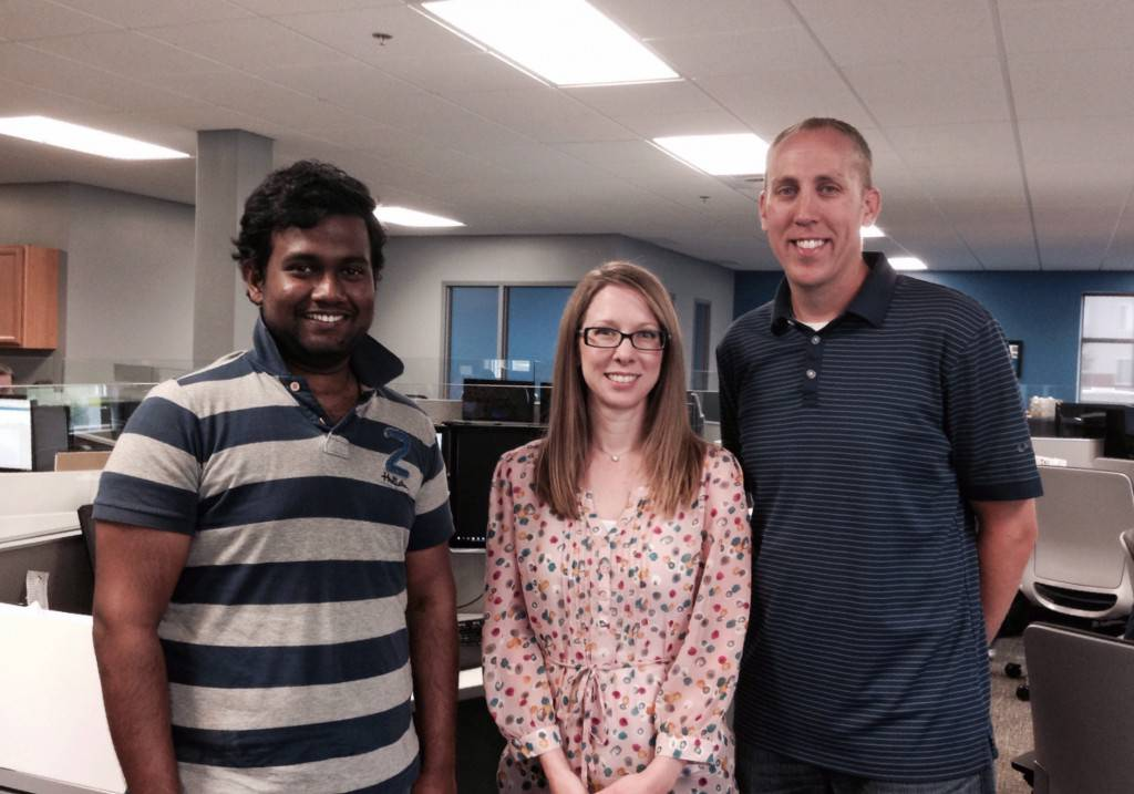 Lahiru, Sarah and Brady join us this month at eOne!