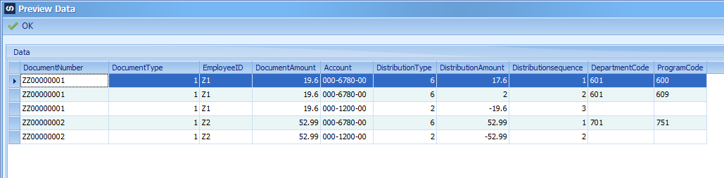 Creating Payables Transaction with Analytical Accounting (AA