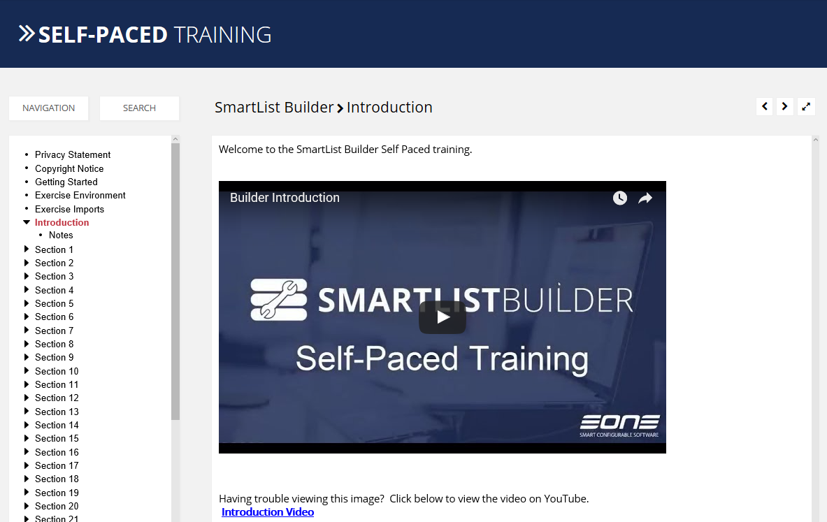 SmartList Builder Self-Paced Training has been Updated! | eOne Solutions