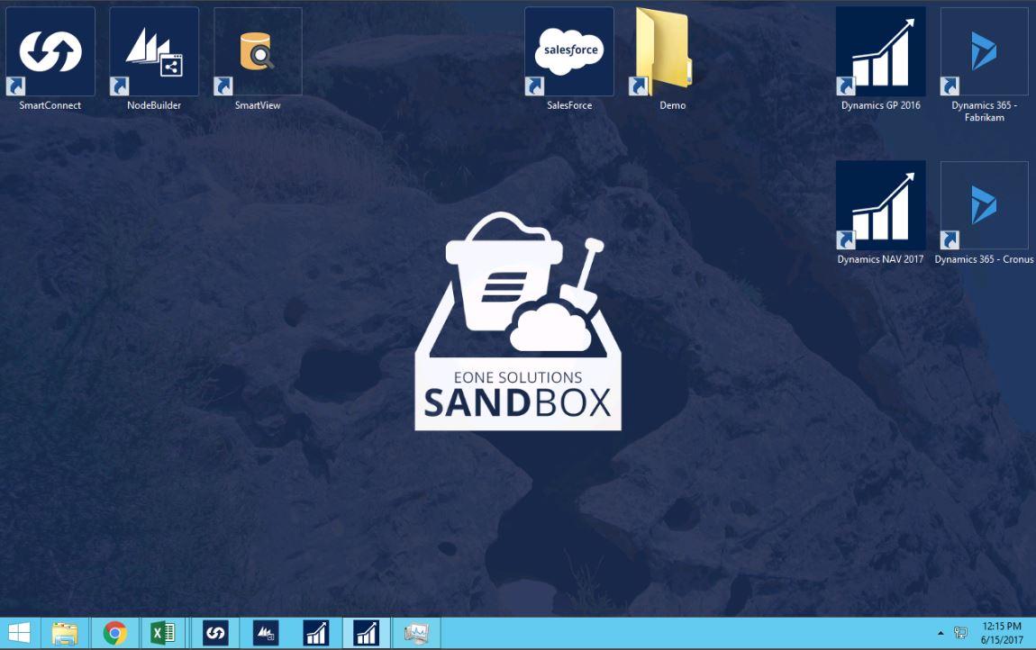 eOne Sandbox