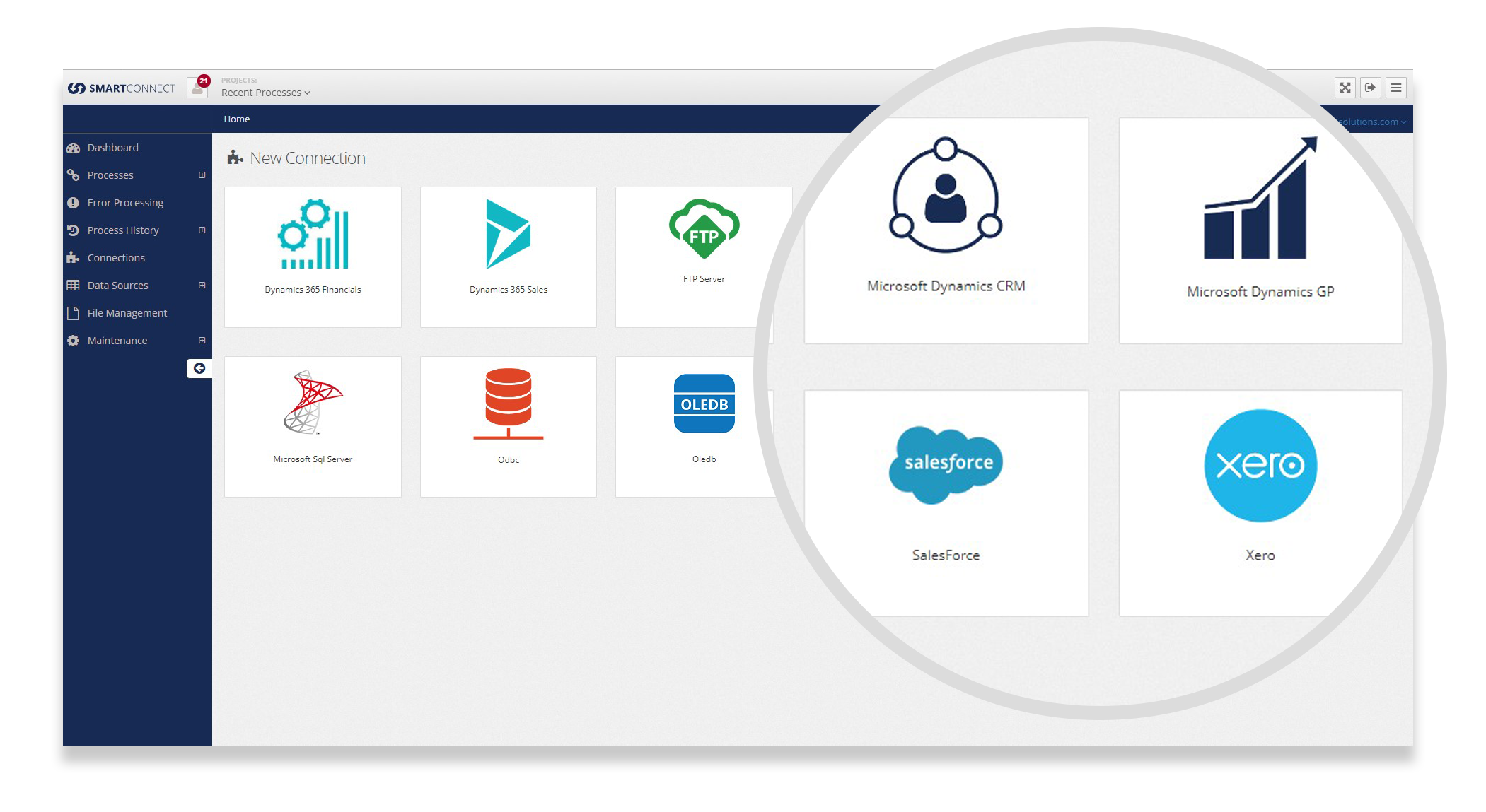 SmartConnect   Integration for Dynamics 365, CRM, NAV, and GP