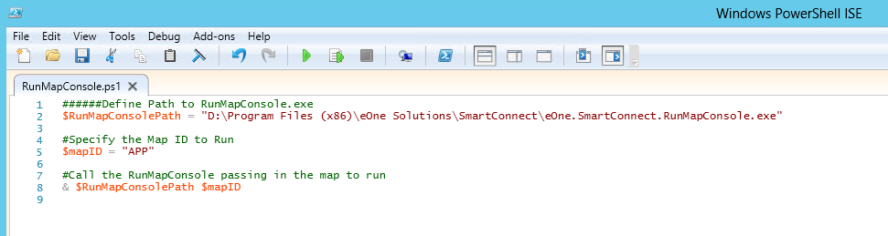 Running SmartConnect from PowerShell | eOne Solutions