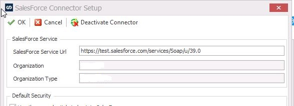 SalesForce INVALID_LOGIN: Invalid username, password, security token