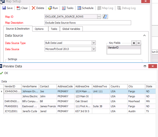 How to Exclude Data Source Rows | eOne Solutions