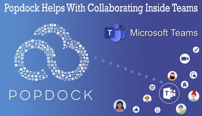 Microsoft Teams Popdock