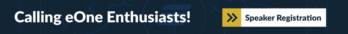 eOneEvent-CallforSpeaker-banner