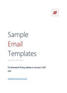 SampleEmailTemplates